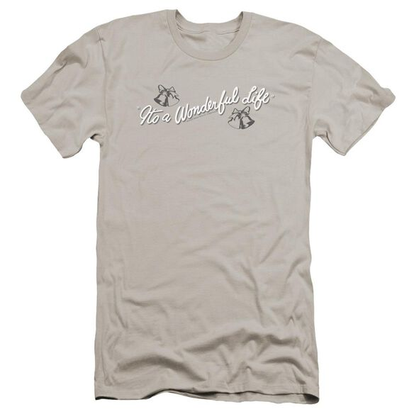 It's A Wonderful Life Logo Premuim Canvas Adult Slim Fit