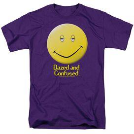 DAZED AND CONFUSED DAZED SMILE - S/S ADULT 18/1 - PURPLE T-Shirt