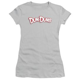 Dum Dums Logo Short Sleeve Junior Sheer T-Shirt
