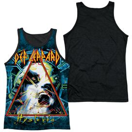 Def Leppard Hysteria Adult Poly Tank Top Black Back