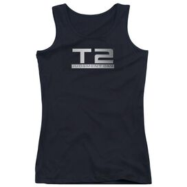Terminator 2 Logo Juniors Tank Top