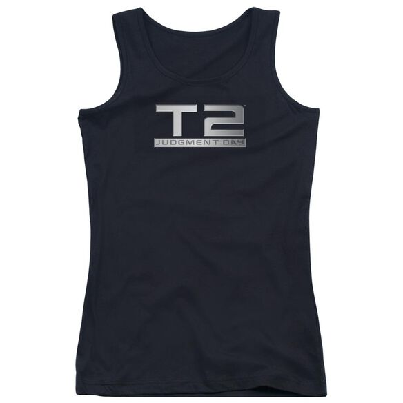 Terminator 2 Logo Juniors Tank Top