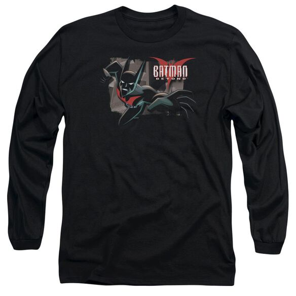 Batman Beyond Out Of The Frame Long Sleeve Adult T-Shirt
