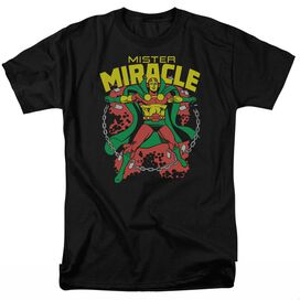 DC MR MIRACLE - S/S ADULT 18/1 - BLACK T-Shirt
