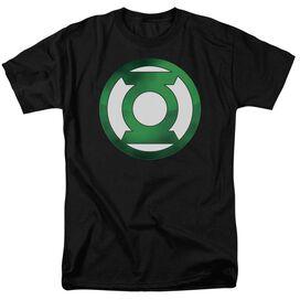 Green Lantern Green Chrome Logo Short Sleeve Adult T-Shirt