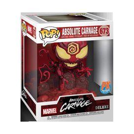 Funko - Pop Marvel Heroes Absolute Carnage PX Deluxe Vinyl Figure