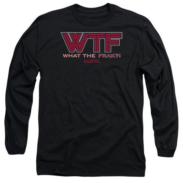BSG WTF - L/S ADULT 18/1 - BLACK T-Shirt