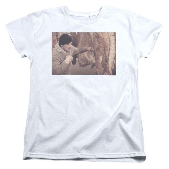 Rocky Meat Locker Short Sleeve Womens Tee T-Shirt