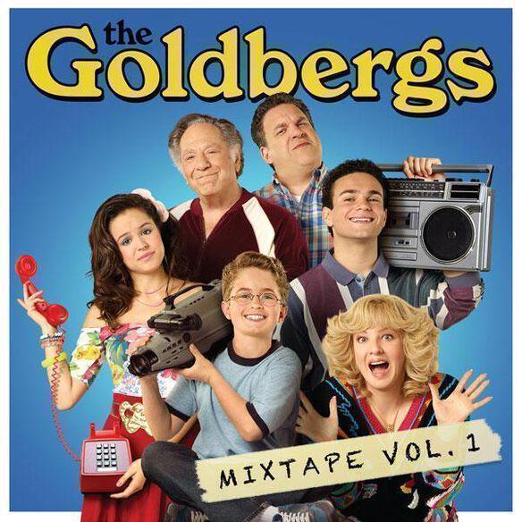 Various Artists - The Goldbergs Mixtape Vol. 1 [Exclusive Metallic Gold Vinyl]