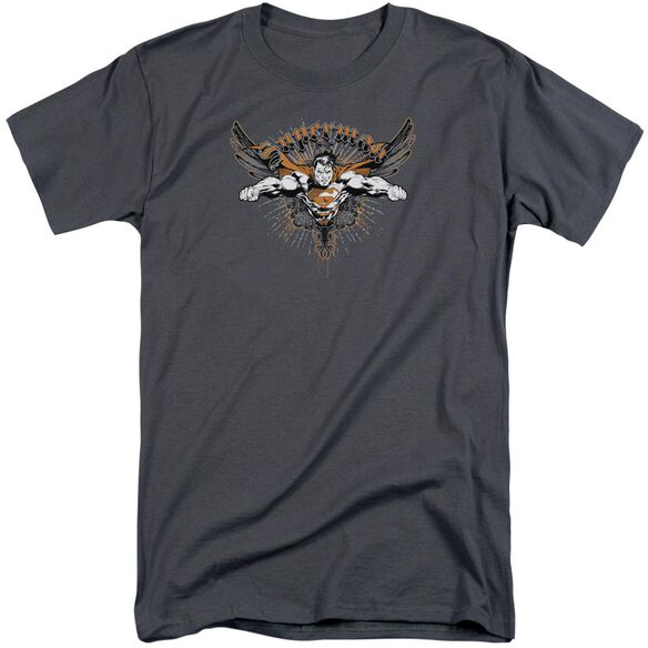 Superman Take Wing Short Sleeve Adult Tall T-Shirt