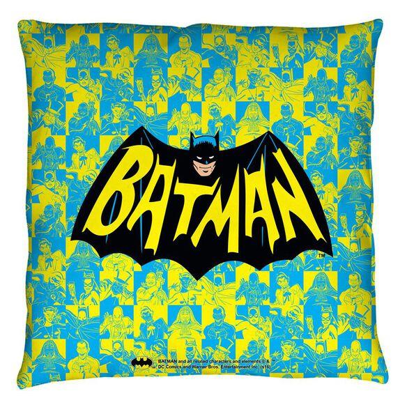 Batman Classic Tv Classic Tv Show Logo Throw
