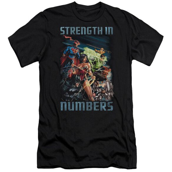 Jla Strength In Number Premuim Canvas Adult Slim Fit