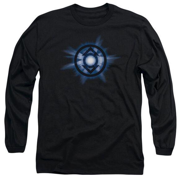 Green Lantern Indigo Glow Long Sleeve Adult T-Shirt