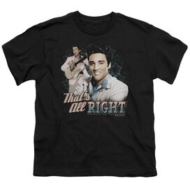 ELVIS PRESLEY THATS ALL RIGHT - S/S YOUTH 18/1 - BLACK T-Shirt