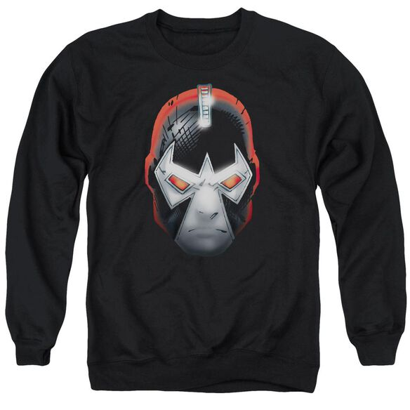 Batman Bane Head - Adult Crewneck Sweatshirt - Black