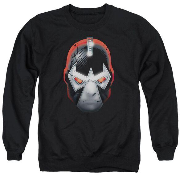 Batman Bane Head Adult Crewneck Sweatshirt