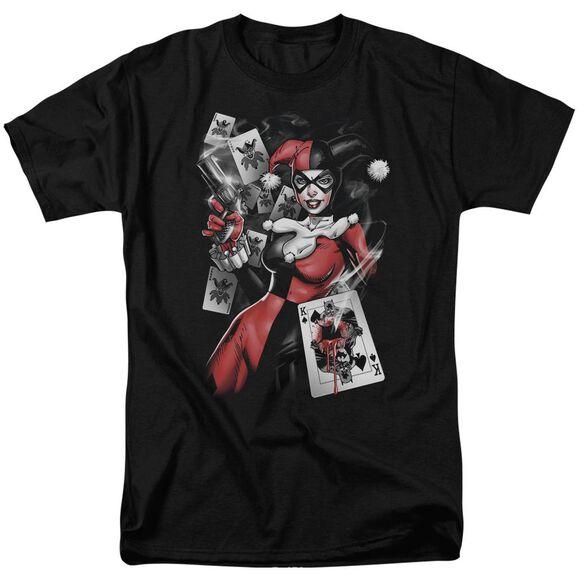 Batman Smoking Gun Short Sleeve Adult T-Shirt