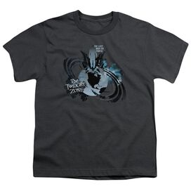 TWILIGHT ZONE LAST MAN ON EARTH - S/S YOUTH 18/1 - CHARCOAL T-Shirt
