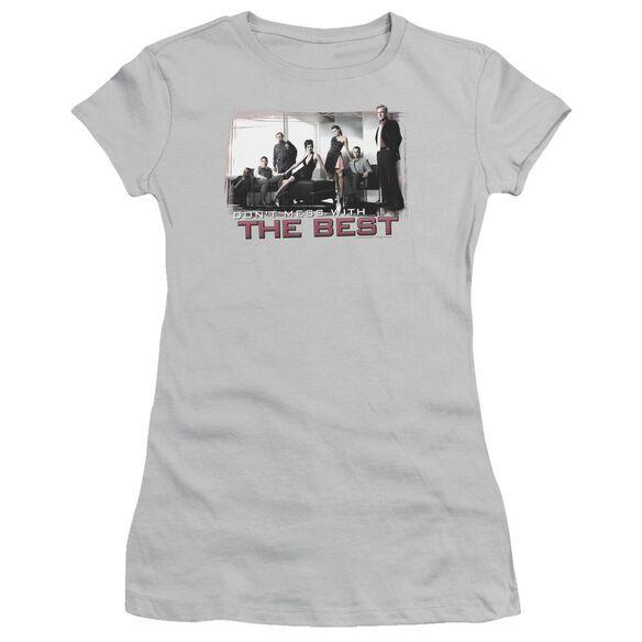 Ncis The Best Short Sleeve Junior Sheer T-Shirt