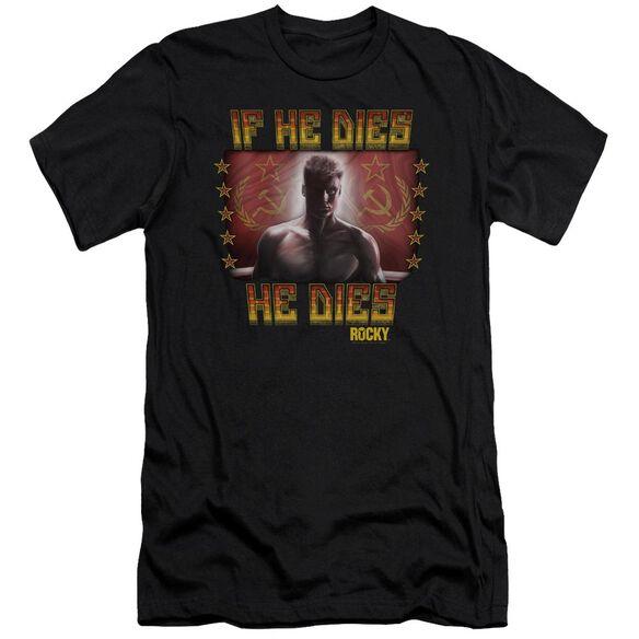 Rocky Iv Condolences Short Sleeve Adult T-Shirt