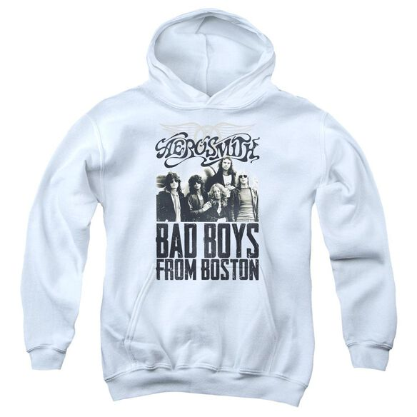 Aerosmith Bad Boys Youth Pull Over Hoodie