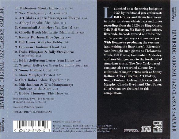Riverside Sampler 0802