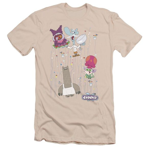 Chowder Dots Collage Short Sleeve Adult T-Shirt