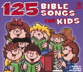 The St. John's Children's Choir - 125 Bible Songs for Kids [Box Set]
