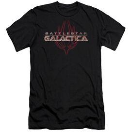BSG LOGO WITH PHOENIX - S/S ADULT 30/1 - BLACK T-Shirt