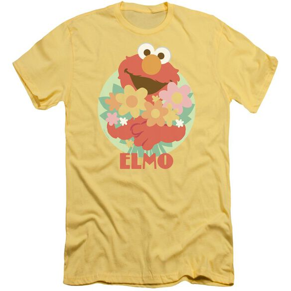 Sesame Street Flowers For You Premuim Canvas Adult Slim Fit