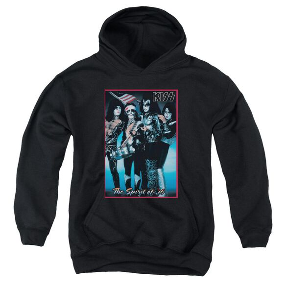 Kiss Spirit Of 76 Youth Pull Over Hoodie
