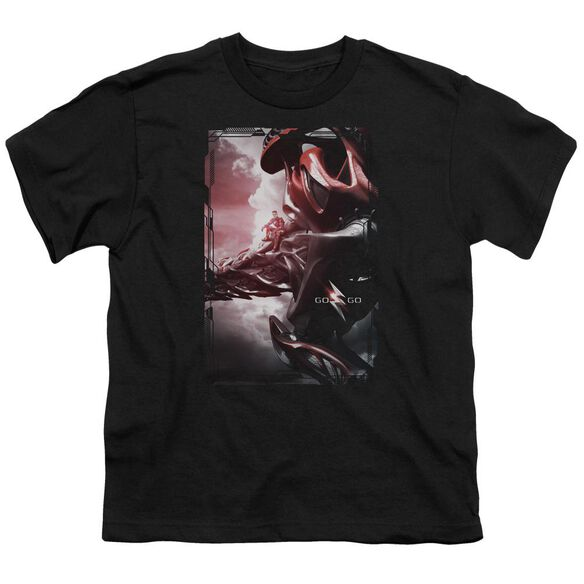 Power Rangers Red Zord Poster Short Sleeve Youth T-Shirt