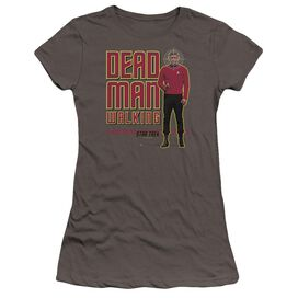 Star Trek Dead Man Walking Premium Bella Junior Sheer Jersey