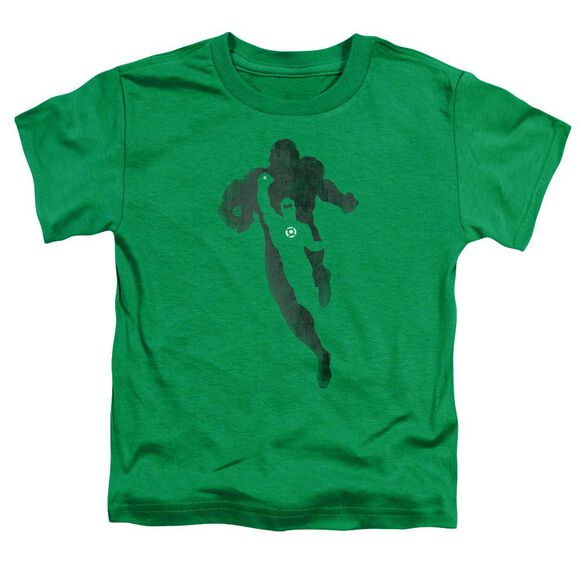 Dc Lantern Knockout Short Sleeve Toddler Tee Kelly Green T-Shirt