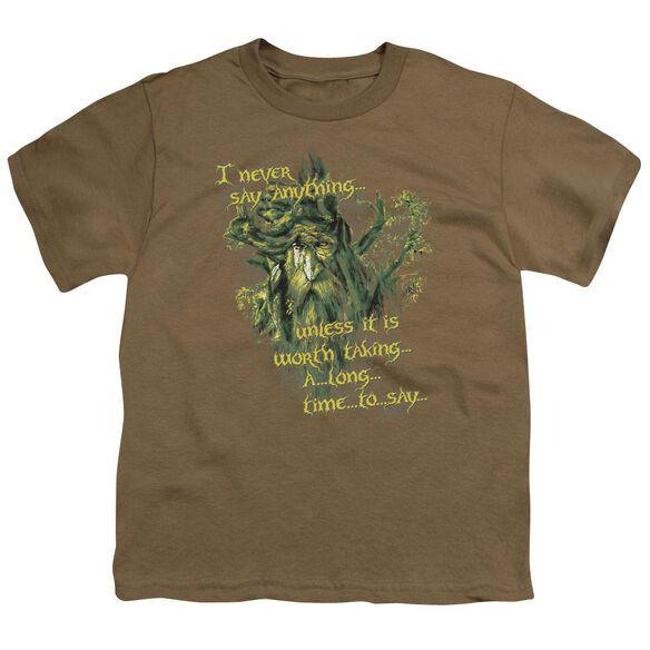 Lor Slow Talker Short Sleeve Youth Safari T-Shirt