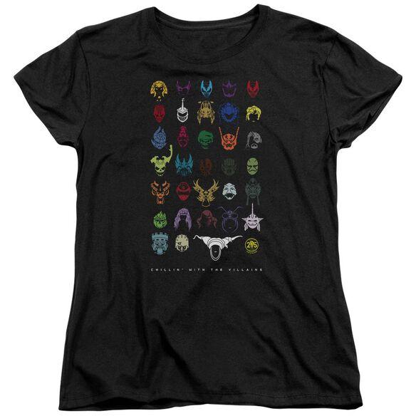 Power Rangers Villians Short Sleeve Women's Tee T-Shirt