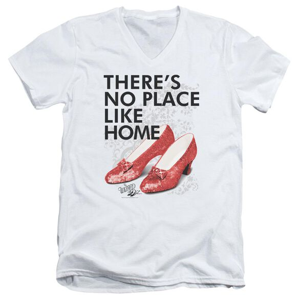 Wizard Of Oz No Place Like Home Short Sleeve Adult V Neck T-Shirt