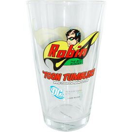 Robin Logo Pint Glass