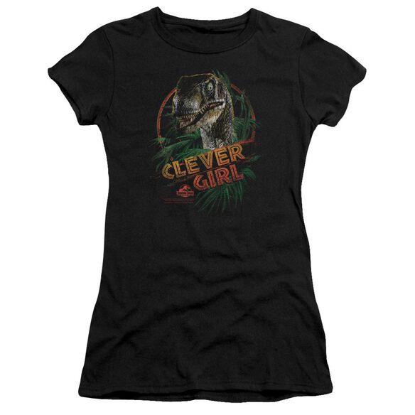 Jurassic Park Clever Girl Premium Bella Junior Sheer Jersey
