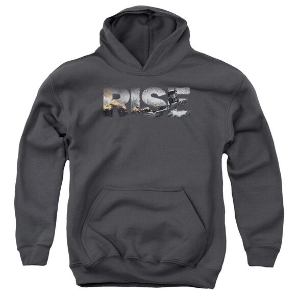Dark Knight Rises Title Youth Pull Over Hoodie