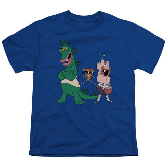Uncle Grandpa The Guys Short Sleeve Youth Royal T-Shirt