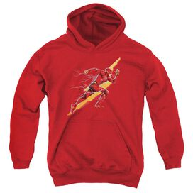 Justice League Movie Flash Forward Youth Pull Over Hoodie