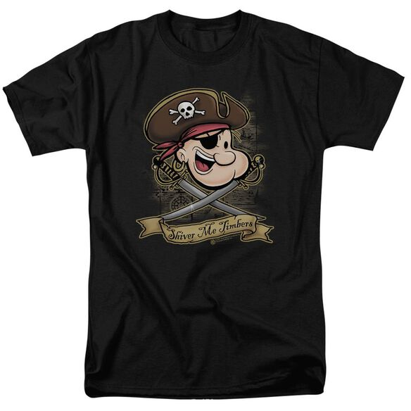 Popeye Shiver Me Timbers Short Sleeve Adult T-Shirt