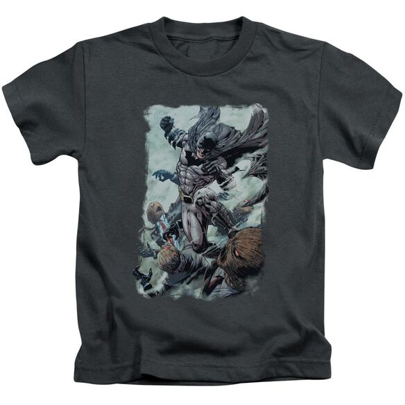 Batman Punch Short Sleeve Juvenile T-Shirt