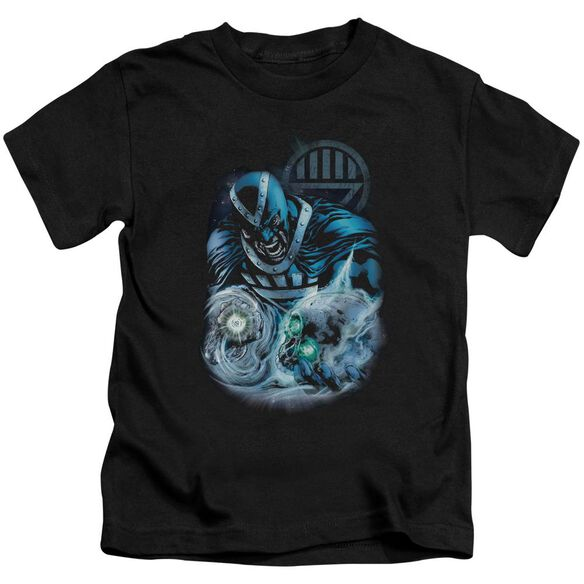 Green Lantern Blackhand Short Sleeve Juvenile Black T-Shirt