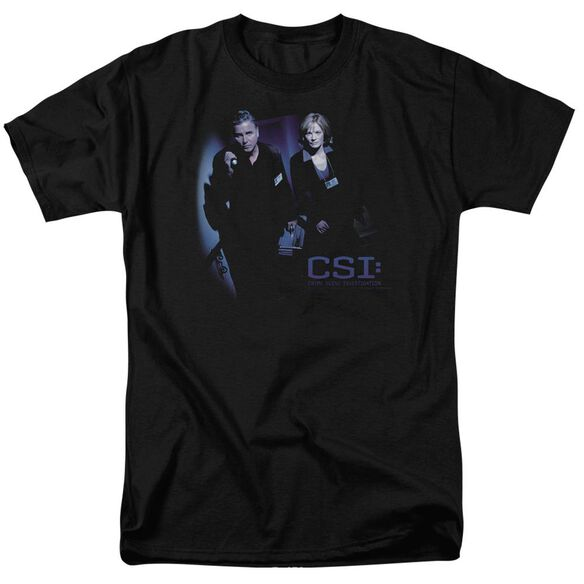 Csi At The Scene Short Sleeve Adult T-Shirt