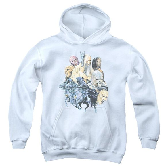 Lor Collage Of Evil Youth Pull Over Hoodie