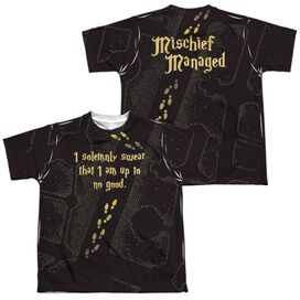 HARRY POTTER MARAUDERS MAP (FRONT/BACK T-Shirt