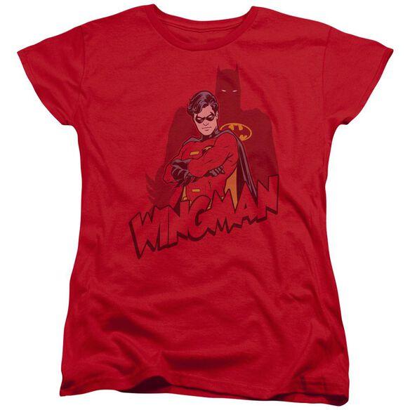 Batman Wingman Short Sleeve Womens Tee T-Shirt