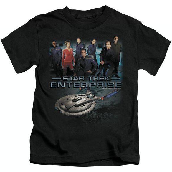 STAR TREK ENTERPRISE CREW - S/S JUVENILE 18/1 - BLACK - T-Shirt